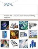 Riešenia Alfa Laval pre výrobu a spracovateľský priemysel